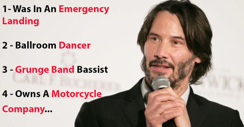 20 Fascinating Facts About Keanu Reeves That Prove He S Cooler Than