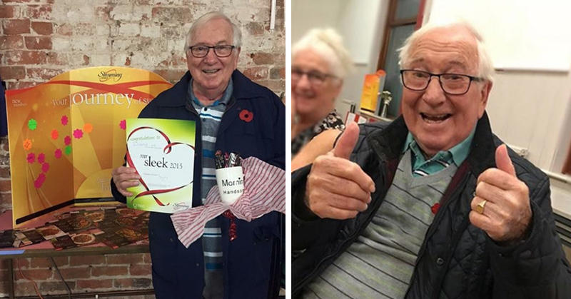 This 85-Year-Old Have The Most ADORABLE Weight-Loss Instagram